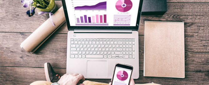 A person examines bankruptcy statistics and trends for 2018